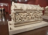 Sarcophagus showing the labours of Herakles, Perge, 2nd century AD.