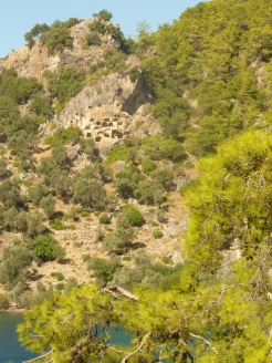Bedri Rami Bay lycian tombs