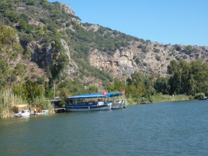 Riverboat to Kaunos