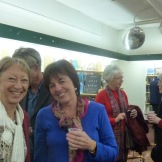 Jan Wyles and Janene (background Professor Kay Harman and Bar Finch)